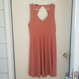 Torrid size 0 back cut-out dress